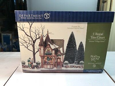 9. Department 56 1 Royal Tree Court (DIckens Village Series 56.58506 $50.00