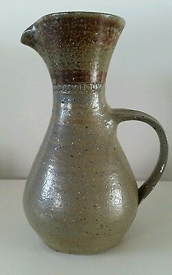 Vintage Bendigo Pottery Water Pitcher Carafe by Peter Devanny Australia