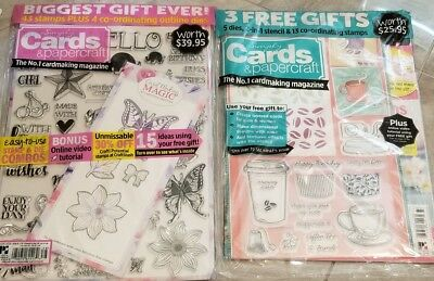 Simply Cards & Papercraft Magazines, Lot of 2, Issues 177 &178, New