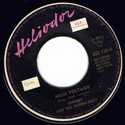 """60s 7"""" 33 - JOHNNY AND THE HURRICANES - DU, DU... - Heliodor D 1962 - VG"""
