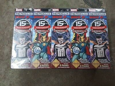 Marvel HeroClix: 15th Anniversary What If? Booster Brick - 10 pack SEALED!