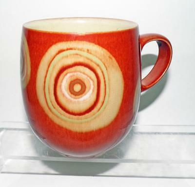 Denby Pottery Fire and Chilli Pattern Mug made in Stoneware
