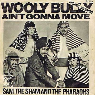 """60s 7"""" 58 - SAM THE SHAM AND THE PHARAOS - WOOLY BULLY - D 1965 - EX-"""