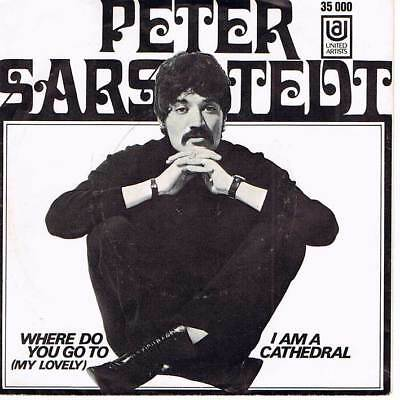 """60s 7"""" 59 - PETER SARSTEDT - WHERE DO YOU GO TO - D 1969 - EX / VG+"""