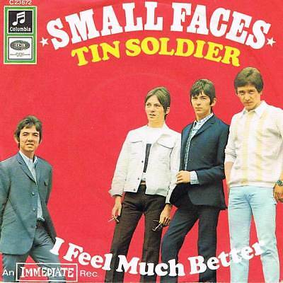 """60s 7"""" 62 - SMALL FACES - TIN SOLDIER - Columbia Stateside D 1967 - VG(+)"""