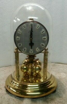 Antique torsion clock spares or repair.