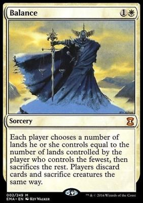 1x BALANCE - Rare - Eternal Masters -  MTG - NM - Magic the Gathering