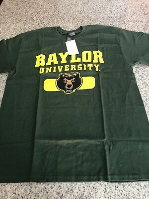 f8246b62 Baylor Univer Campus Colors NCAA Adult Arch & Logo Soft Style Gameday T- Shirt,