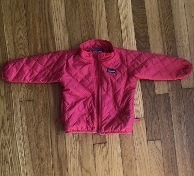 Patagonia Nano Puff Infant Baby Girls Winter Car Seat Safe Coat 12 Months Pink