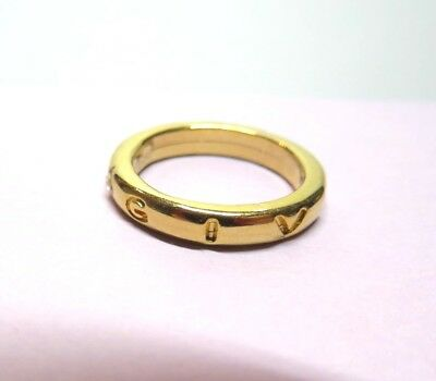 Vintage Givenchy Ring To Wear On A Chain!  Or A Size 4 Finger