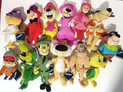 WB EXCLUSIVE Bean Bag 13 Figure Lot Atom Ant Wally Gator Hong Kong Phooey +