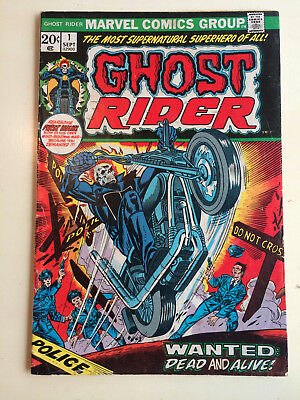 Ghost Rider #1 Vol 1 1st Appearance of Son of Satan 1973