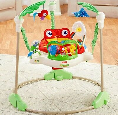 Fisher Price Rainforest Jumperoo Baby Jumper Activity Seat (Unopened Box)