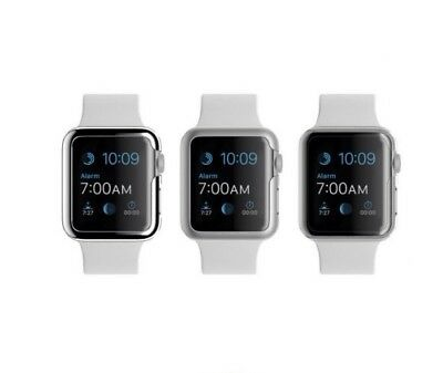 Griffin 3 Pack Ultra Thin Protective Cases for Apple Watch 38mm