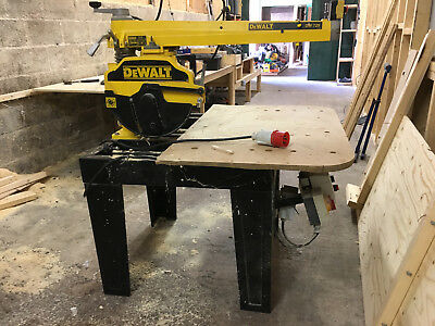 Dewalt Radial Arm Saw DW729 (3phase)