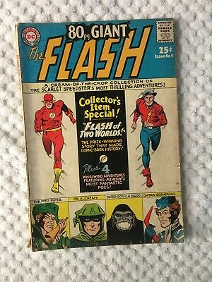 The FLASH , 80 Page Giant Magazine #9 (Apr 1965, DC) COLLECTOR'S ITEM SPECIAL!