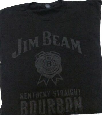 JIM BEAM Kentucky Bourbon PROMO T SHIRT SIZE Medium - NEW Free Shipping