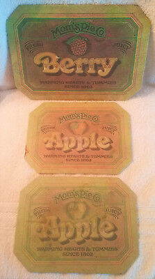 Mom's Pie Co. Insulated Hot Mat 2 Apple 1 Berry Made In Usa Ballonoff Home Prod.