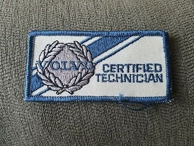 Volvo Factory Certified Technician Patch