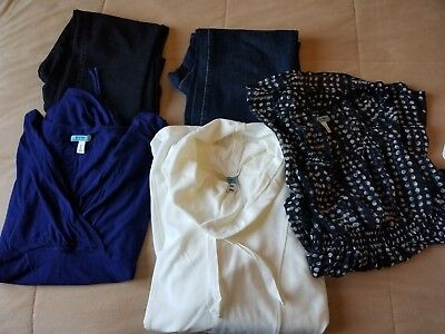 Womens Maternity Clothes Size S LOT