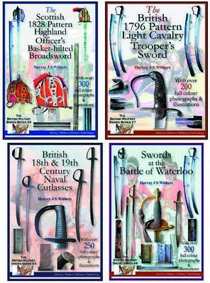Set Of Four Full Colour Sword Booklets For Collectors