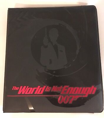 James Bond Inkworks The World Is Not Enough Set Of 90 Cards & Ring Binder