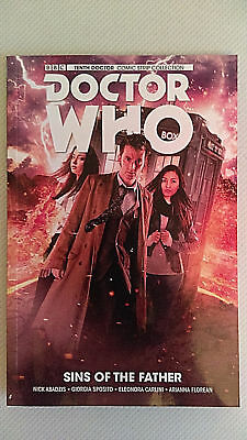 TITAN COMICS Graphic Novel Trade Paperback DOCTOR WHO Sins Of The Father 10TH DR