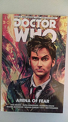 TITAN COMICS Graphic Novel Trade Paperback DOCTOR WHO Arena Of Fear TENTH DR