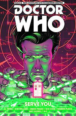 TITAN COMICS Graphic Novel Trade Paperback DOCTOR WHO Serve You 11th DR