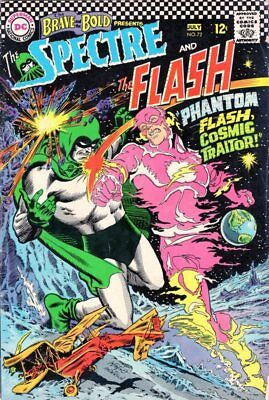 Brave and The Bold #72 DC 1967 - - 4th app The Spectre - Flash