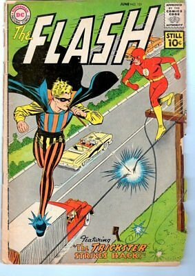 Flash #121 - Trickster Strikes Back by Broome & Infantino! DC SILVER AGE