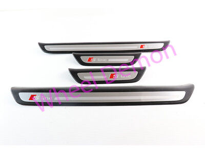Audi Q3 S Line Door Sill Entry Kick Plates