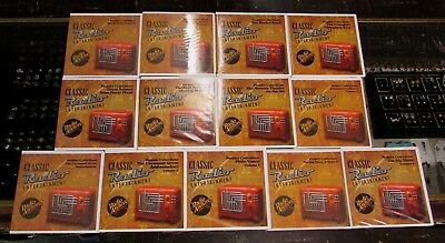 13 Classic RADIO Entertainment Radio Archives Premier Collection CD Sets 118 CDs
