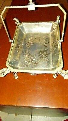 Roger Smith Co. Rare Horses and Hounds  serving dish.