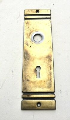 Vintage ~ Art-Deco ~ **Door Backplate** - Striking Vintage Hardware