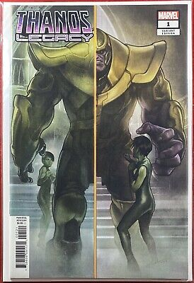 Thanos Legacy #1 1:25 Stonehouse Variant Nm+ Marvel Comics 2018 Silver Surfer