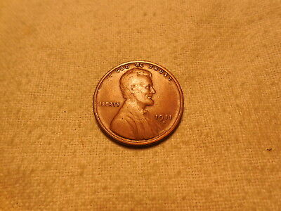 High Grade Semi-Key 1911-S Lincoln Cent F+