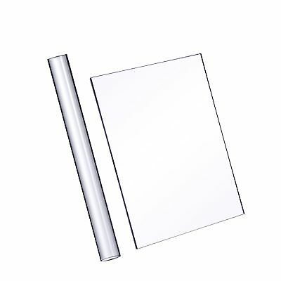 Acrylic Clay Roller with Acrylic Sheet Backing Board for Shaping and Sculptin...