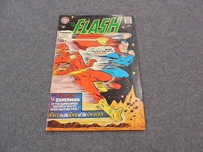 The Flash #175 Race With Superman Comic Book