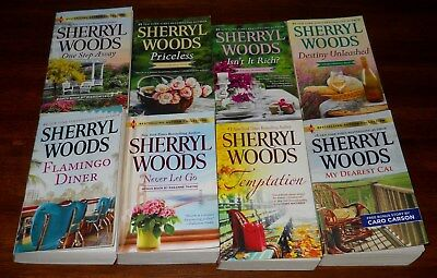 Sherryl Woods - lot of 8 pb books