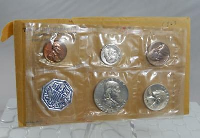 1963 United States Mint US Proof 5 Coin Set with Original Envelope CB449