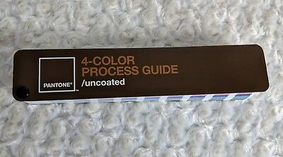 Pantone 4-Color Process Guide Uncoated Color Swatch Book 2005