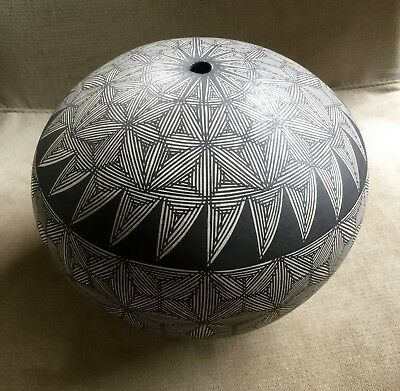 LARGE ACOMA N.M. VASE or  SEED POT by E.P. ROUTZEN