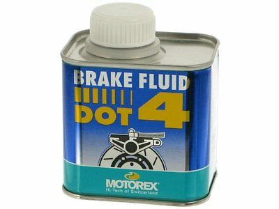 Motorex Mx 250ml DOT 4 Motocross Dirt Bike Motorbike Hi Performance Brake Fluid
