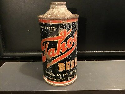 Tahoe Beer (186-20) empty cone top beer can by Carson, Carson City, Nevada