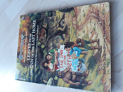 AD&D 2nd Dragonlance Leaves from the Inn of the Last Home TSR by Tracy Hickmann