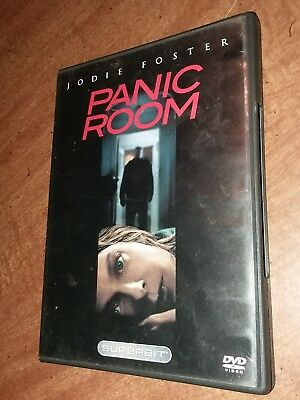 Panic Room (DVD, Superbit, 2006) Jodie Foster, Forest Whitaker, Dwight Yoakam