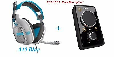 Astro A40 Gaming Wired Headset With MIXAMP For Ps3 Ps4 Xbox PC Mac Astro Gaming