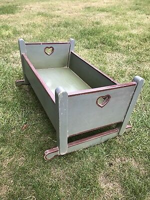 Vintage / Antique Baby's Cot / Crib - Great For Photo Studio Prop