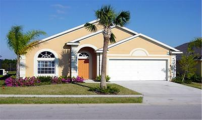 4 Bedroom 3 bath Vacation rental pool/spa home Villa Orlando Florida near Disney